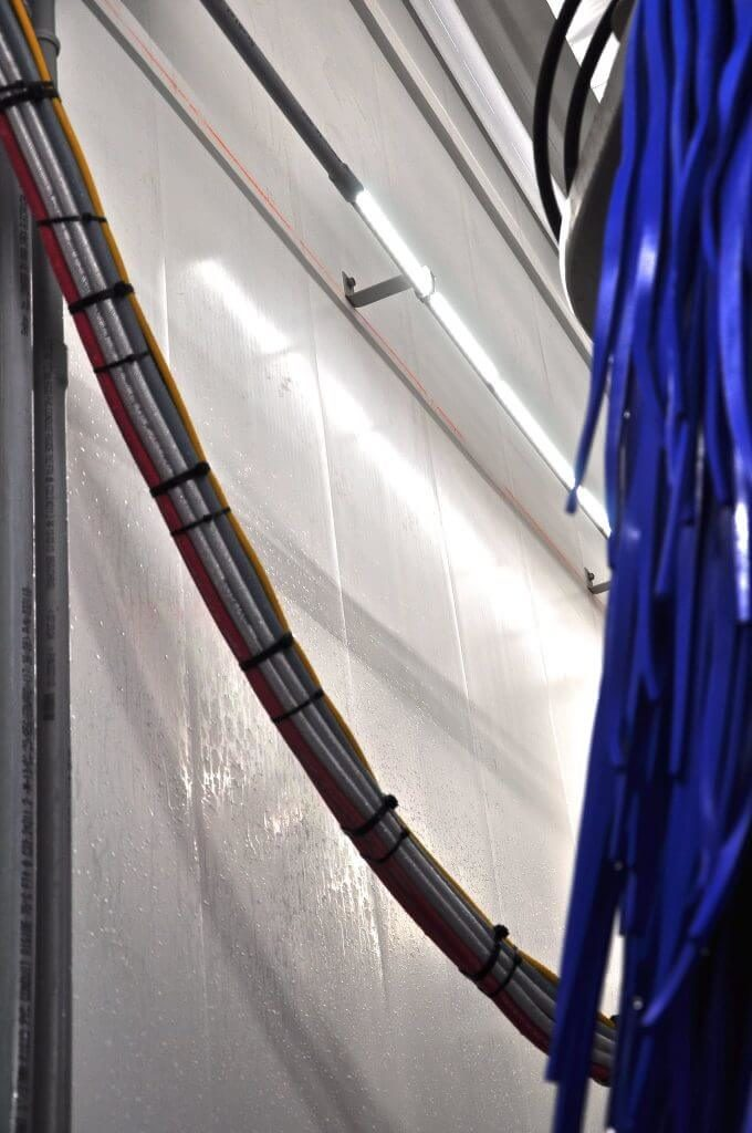 Car Wash Walls with PVC Liner