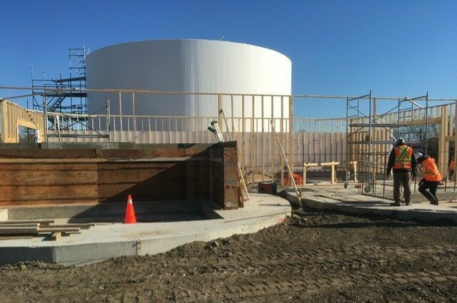 Zooshare Large Anaerobic Digester Construction