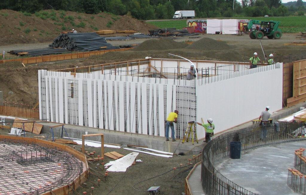 Stahlbush Farm Pit Construction